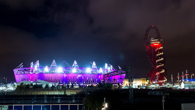 Photo: Olympic Stadium and ArcelorMittal Orbit