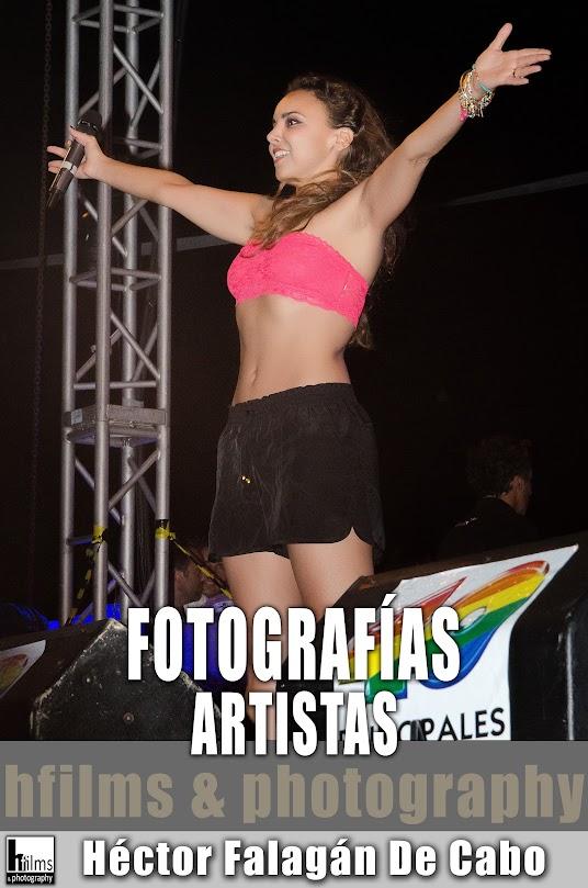 Fotografías de Artistas