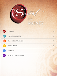 """The Secret to Money"" von Rhonda Byrne Screenshot"