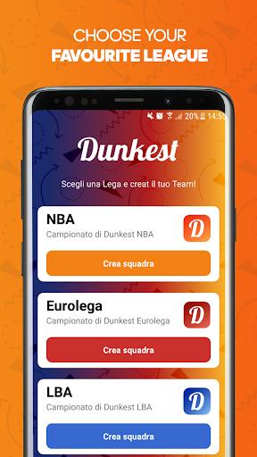 Dunkest - Fantasy Basketball NBA et Euroligue  captures d'u00e9cran 2