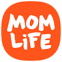 Pregnancy tracker and chat support for new moms icon