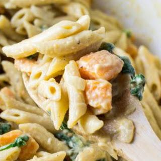 Sweet Potato Spinach Pasta Recipes.