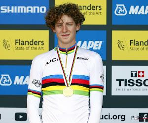 """Wereldkampioen tijdrijden bij junioren probeert ook de cross uit: """"Het is nu niet dat ik me ga meten met Van der Poel"""""""