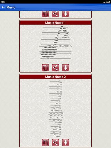 Word Arts Ascii Text Art Pictures Symbols Images Apk Download