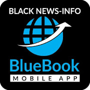 App Icon for Blue Book Black News App in United States Play Store
