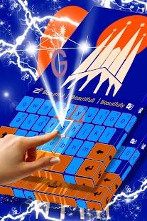 Barcelona Téma pro Keyboards - náhled