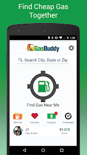 0 GasBuddy - Find Cheap Gas App screenshot