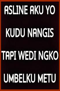 Kata Kata Lucu Bahasa Jawa Stahuj Cz