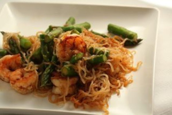 Joshua's Stir Fried Shrimp And Asparagus Recipe