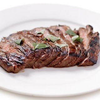 Mustard Flank Steak.