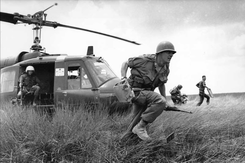 Photo: The Vietnam War *via: territa.ru*