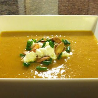 Super Summer Squash and Coconut Milk Soup With Alkalizing Lemon and Chives