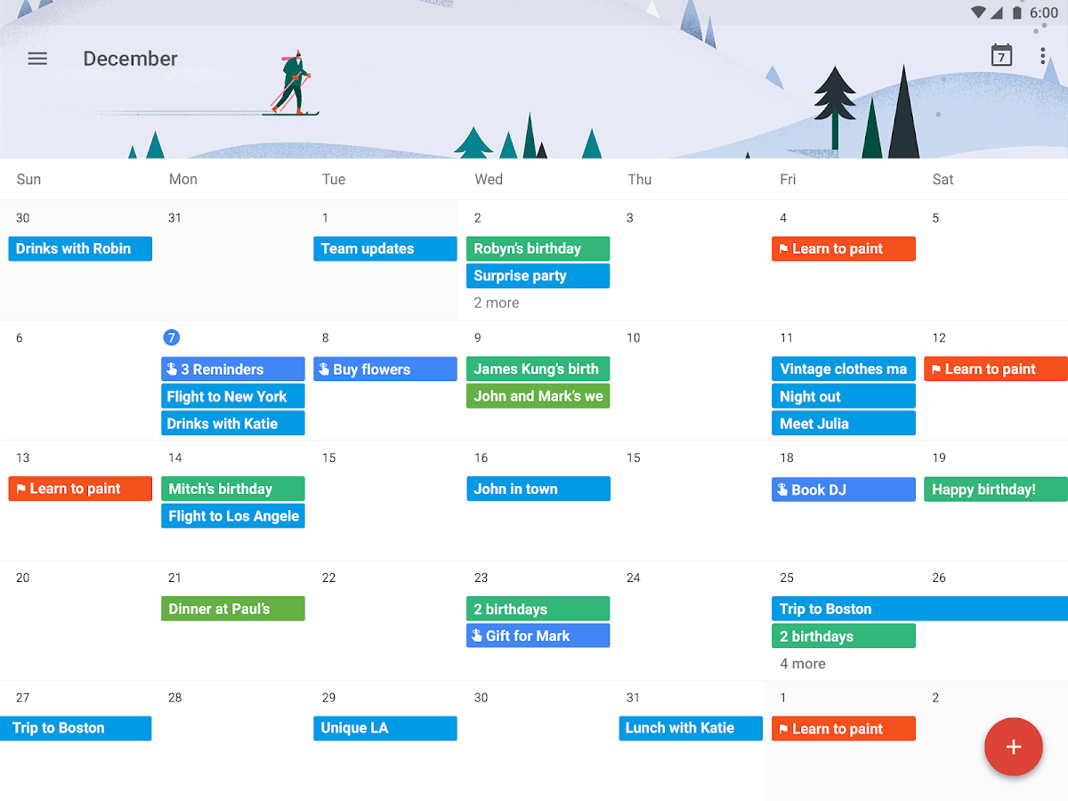 Google Monthly Calendar : Google calendar android apps on play
