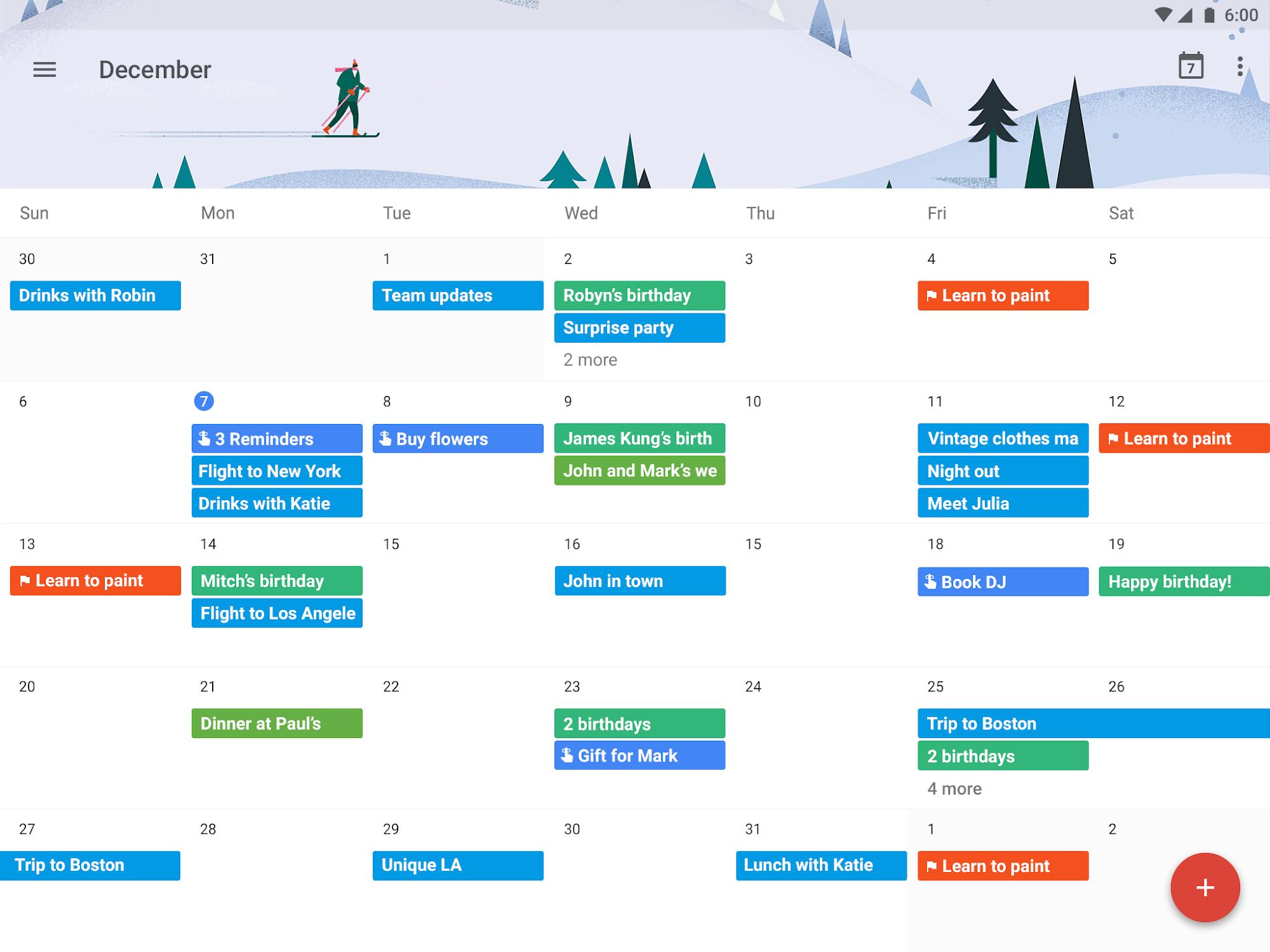 Google Calendar screenshot #8