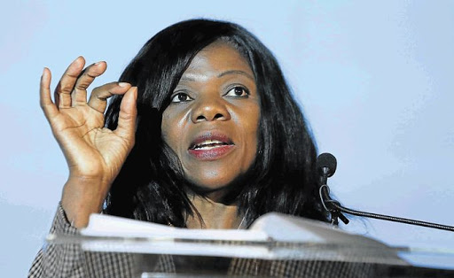 Former Public Protector Thuli Madonsela. PICTURE: SYDNEY SESHIBEDI/THE TIMES