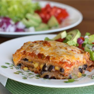 Vegetarian Mexican Lasagna Corn Tortillas Recipes