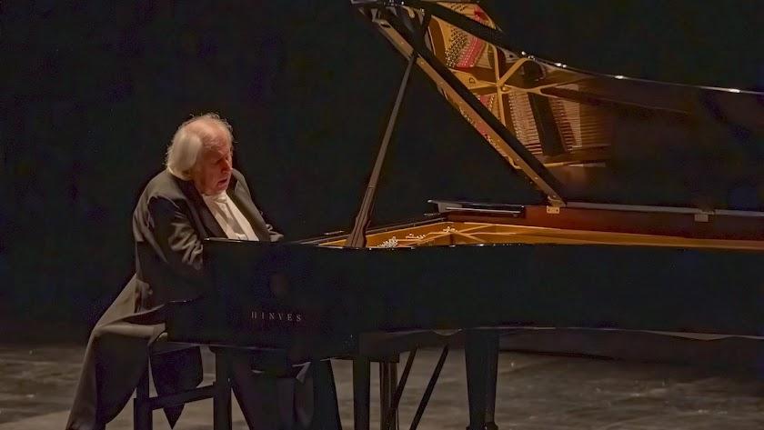 Sokolov en su recital de este domingo en el Auditorio Maestro Padilla.
