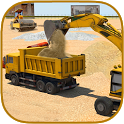 Offroad Construction Excavator icon