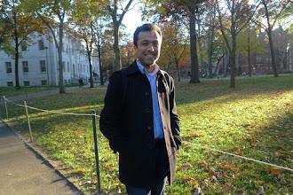 Photo: Dr Amr Taher Ahmed, specialist on Persian and Kurdish literature, Harvard University 2016
