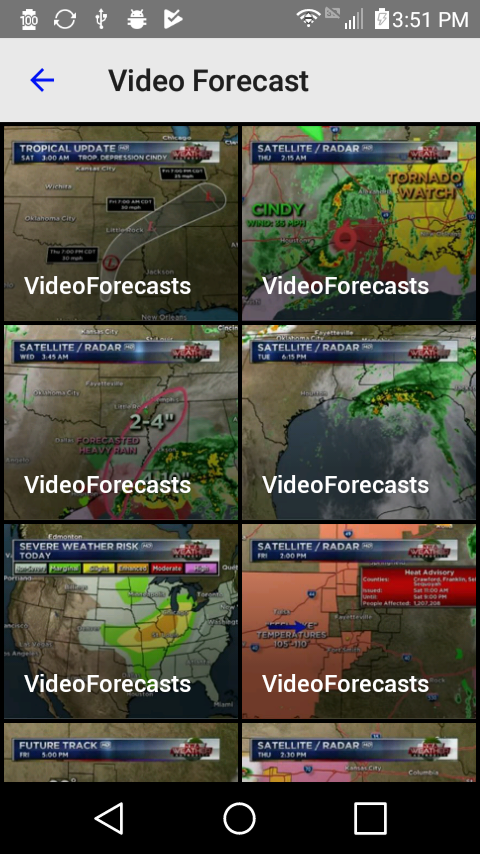 NWA Weather Authority- screenshot