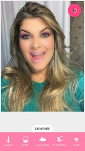 Selfie Face Makeup- screenshot thumbnail