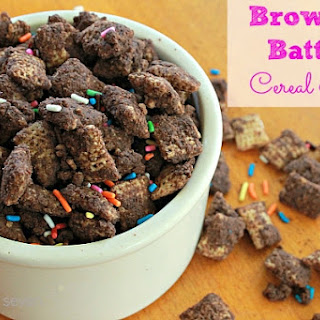 Brownie Batter Cereal Mix