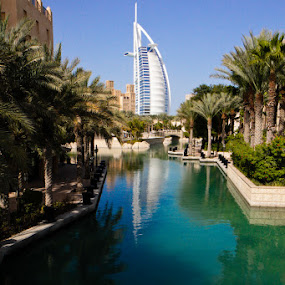 The Burj Al Arab by Anthony Schwab - Landscapes Travel ( anthonyschwab.com, on the streets of dubai )