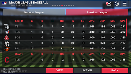 MLB Manager 2018 APK screenshot thumbnail 2