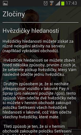 Pruvodce serverem - gta-mp.cz 1.05 screenshots 2