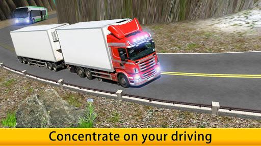 Lorry Truck Driver Cargo Free apk screenshot 5