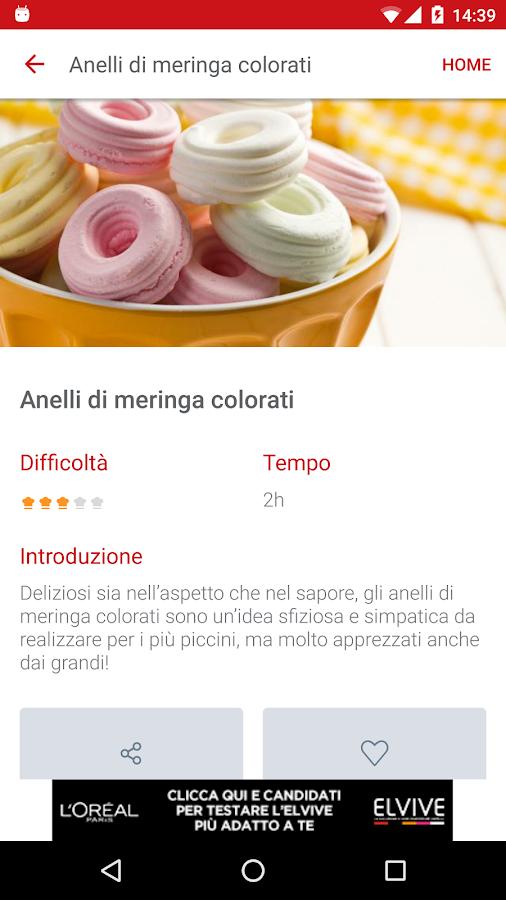gustissimo ricette di cucina screenshot