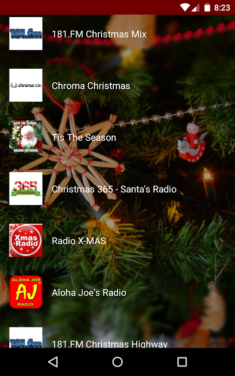 Christmas Music Stations – (Android