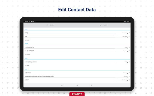 Business Card Reader - Business Card Scanner 4.25.1.2 screenshots 9
