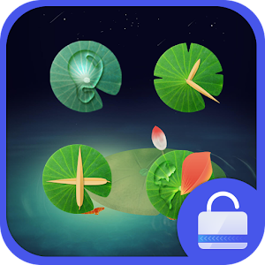 download Lotus Pond Locker theme apk