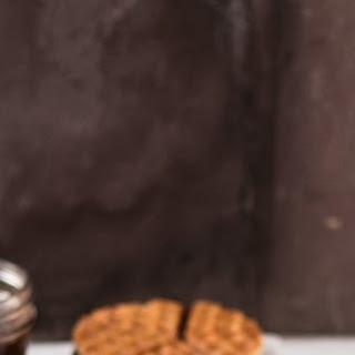Waffle Iron Stroopwafels {Caramel Waffles} Recipe