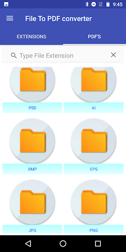 File to PDF Converter(Ai, PSD, EPS, PNG, BMP, Etc) 4.1 Apk for Android 5