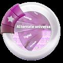 Alternate universe GO Keyboard icon