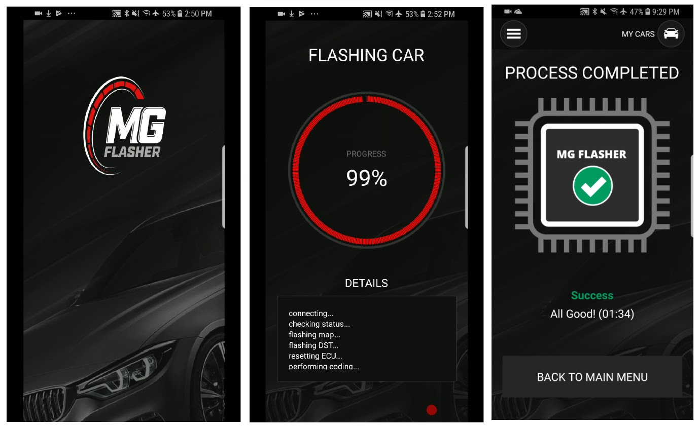 MG flasher - mobile App for B58 Fxx/Gxx tuning -- NOW LIVE