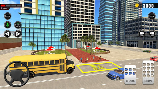 Offroad School Bus Driving: Flying Bus Games 2020 apkpoly screenshots 5
