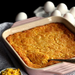 Cheesy Corn Casserole + Giveaway!