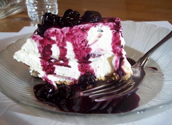 Blueberries And Cream Pie Recipe