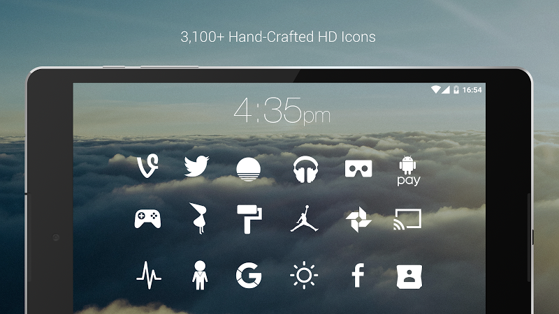 Flight - Flat Minimalist Icons (Pro Version) Screenshot 18