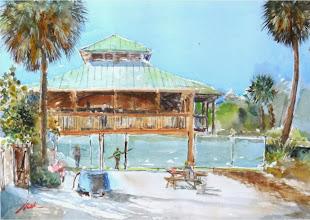 Photo: At Gumbo Limbo 1/23/14 / Watercolor No2 by Manny Jomok