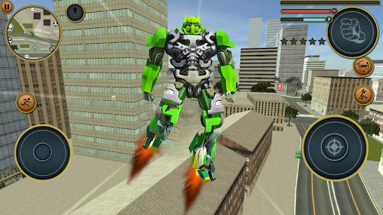 Robot Truck Transformer US Police Robot War Games 3
