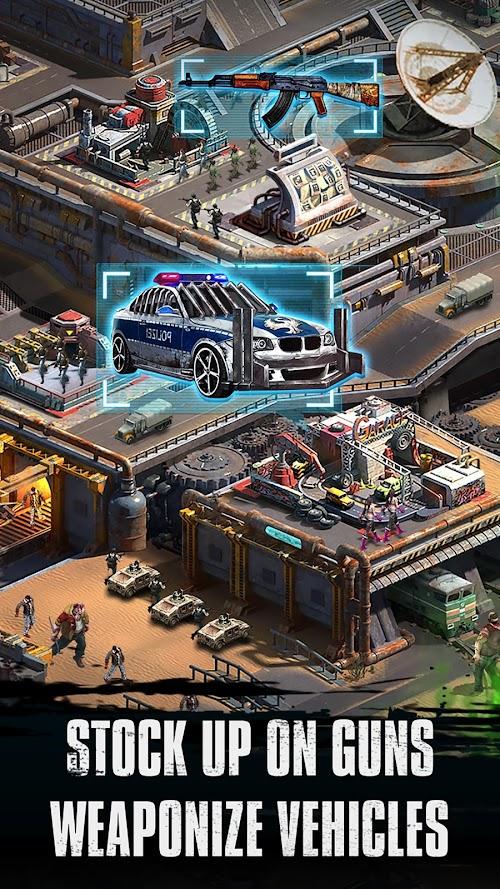 Screenshot 2 Zombie Siege 0.1.396 APK MOD