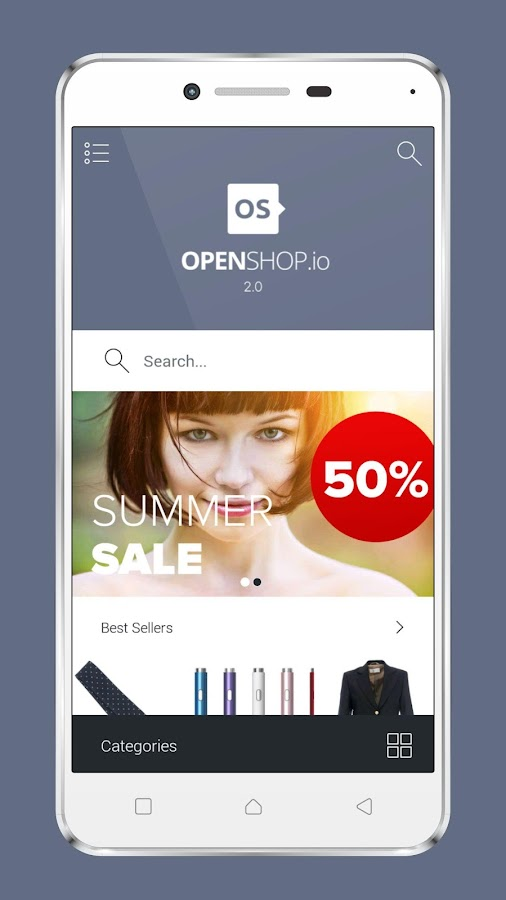 Openshop.io 1.0- screenshot