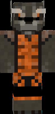Rocket Raccoon Nova Skin