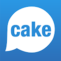 cake live stream video chat icon