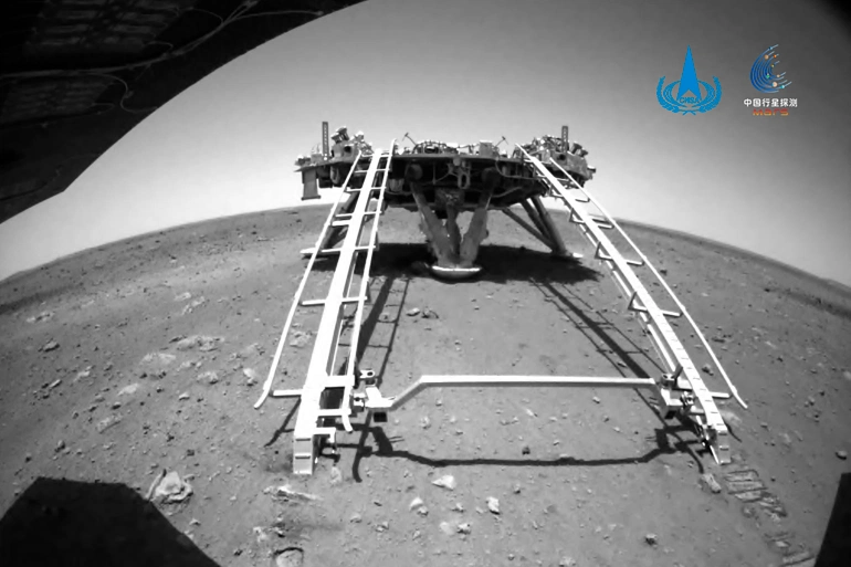 China's First Mars Rover Lands on the Red Planet