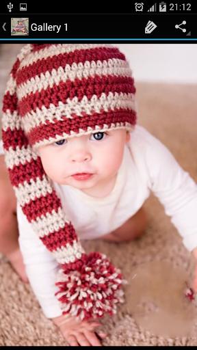 Crochet Pattern Baby Beanie 玩生活App免費 玩APPs